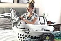 Get Clean | Laundry / Get the most out of your workout clothes, gear, & equipment with how-to's and cleaning tips.