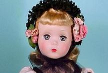 Madame Alexander Maggie dolls / Only Maggie or polly pigtails / by Arlene Stakic