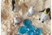 Fun Sensory Activities ♡ / Fun sensory activities for babies, toddlers and preschoolers || sensory bins | sensory bottles | sensory activities | sensory activities toddlers | sensory activities for babies | play dough | playdough | playdoh | slime | sensory sand | messy play