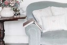 Shades of Blue / Whether you're after striking richness or calm coolness, blue is always a lovely choice for the home.