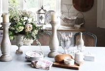 Kitchen and Dining Inspiration / Where we eat and entertain naturally becomes the heart of the home, so it's important it looks absolutely lovely!