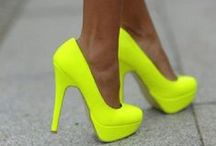 Fluorescent Yellow Neon