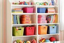 Детская / Как упорядочить вещи в детской,придать ей цвет. Сделать это стильно.