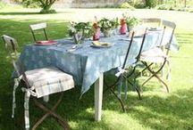 Garden Parties & Summer Dining / It's that time of year again, we're taking to the gardens to savour every bit of sunshine we can. Everything from al fresco dining ideas to beautiful garden decor!