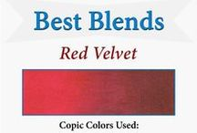 Best Blends for Copics, Prismacolor, Spectrum Noir, and ProMarker