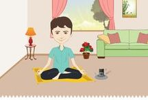 Meditation:For a peaceful mind / Art of Living Meditation is the simplest and most effective way to relieve stress and enliven your life!