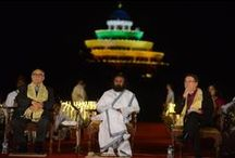 """Art of Living International Center Bangalore / Welcome Home """"Let me be like a tree and you come and have shade under me. I am here to give you joy and happiness. And in your joy, in your happiness, I find happiness""""  152 countries, 33 years of service"""