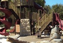 Playgrounds / With seven playgrounds to choose from, there are adventures to be made!