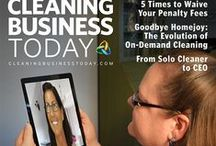 CBT Covers / Covers of the issues of Cleaning Business Today
