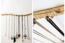 DIY Jewelry Organizations / Jewelry Holder, Jewelry Display, Jewelry Storage, Jewelry Box