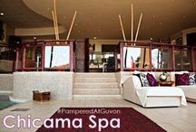"""Glenburn Spa / The award-winning Glenburn Spa at Glenburn Lodge, in the heart of the Cradle of Humankind, is located in tranquil, scenic and calming surroundings with spectacular views from every angle. Our """"Vineyard"""" theme and décor is complemented with the use of Theravine products."""