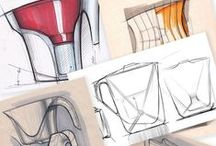 Sketch / Sketches, Industrial and Product Design Sketches