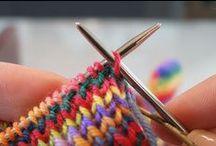 Trico♥ / Sobre a arte do trico / by Katia Karim ゚*:;;:*゚✿゚ฺ✿ฺ