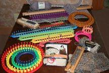 Loom Knitting / Tear / by Katia Karim ゚*:;;:*゚✿゚ฺ✿ฺ