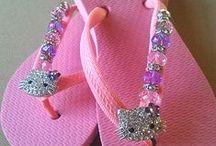 Sandals / Sandálias / by Katia Karim ゚*:;;:*゚✿゚ฺ✿ฺ