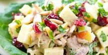 Cranberry Salads / Step right up to these scrumptious salads featuring cranberries.