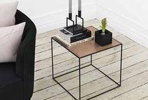 Tafels / Handig !! de mooiste design eettafels, salontafels en bijzettafels op een rij.