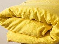 Vydra & Volkmer  - garment dyed pure linen / bytové textilie, kusově barvený český len