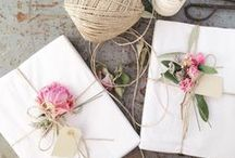 Gift Wrapping / Beautiful gift wrapping ideas for special presents.