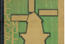 Dutch Art Deco book design / Beautiful bookcovers from my own collection (period: 1915 - 1940)