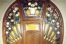 Art Nouveau doors / Art Nouveau doors, portals and gateways