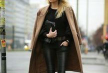 Trend | Got It Covered / Adding a long line wool coat to at any look adds that all important chic edge to an outfit