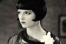 Louise Brooks / American dancer and actress in the 1920's, noted for popularizing the bobbed haircut.