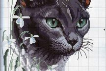 Cross Stitch Animal / Cross Stitch Animal / by Sharon Smither