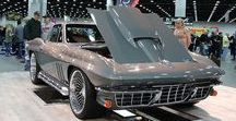 CORVETTES at 2017 DETROIT AUTORAMA / This board has some photos from Wayne Ellwood's coverage for Vette Vues Magazine of the Corvettes show cars that displayed at the 2017 Detroit Autorama.  The article appeared in the May 2017 issue of Vette Vues Magazine.  The event took place Feb 24 – 26, 2017