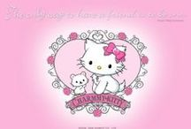 Sanrio / Hello Kitty, My Melody, Twin Stars... you name it.