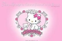 Sanrio / Hello Kitty, My Melody, Twin Stars... you name it.