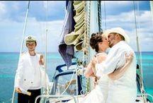 VIP - Wedding On A Yacht / Symbolic Wedding Ceremony in Dominican Republic. #wedding_on_a_yacht Catalina Island. Organization by www.wedding-caribbean.com Photo by Nik Vacuum.