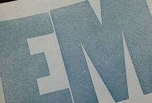 EM letterpress | Made Here / Things we printed, crafted and generally had a hand in.
