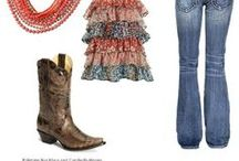 Boots / Living in the tropics far away from country style. It does not stop me from wanting to steal the look!