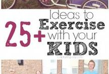Get Active with the Children! / Ideas and inspiration on how to keep fit whilst spending time as a family