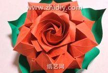 origami vídeos: Flora / origami / by li newman