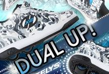 Foot to the floor fun! / Skate your way to school, home and fun with our selection of Heelys and roller blades!