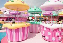C O L O R Y O U R W O R L D / Cutiepie - cupcake - donut - rainbow