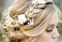Wedding hair - up styles