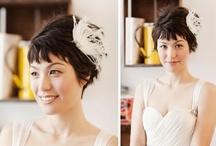 Wedding hair - short hair