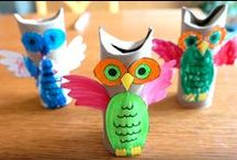 Craft Ideas For PreSchool / I have two kiddos under the age of 5, and I look for crafts that will work for the age level, OR crafts I think I can modify for them.