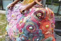 ::  BAGS~> CROCHET / I'm very like crochet Bag / by N'cie