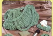 :: PATTERN~> CROCHET BAGS / very love the crochet bag.. and i try to share . . . / by N'cie