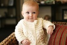 Our favourite hand-knits / Baby and Toddler garments knitted in Merino or Organic wool
