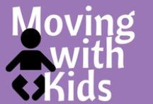 Moving with Kids / Moving can be hard on the younger members of your family.  We want to help you make it easy on them!