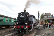 Festival Vapeur de Mariembourg / Chaque année, les Chemins de Fer des trois Vallées organisent le Festival Vapeur. Le temps d'un week-end, les trains roulent, se visitent, s'admirent et le public est nombreux !