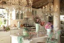 Charming Houses / Country, Shabby Chic, Rustic Houses, Interior Design, decorations