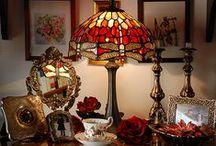 Lampade Tiffany e Art Nouveau