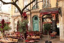Outdoor  Romantic Café