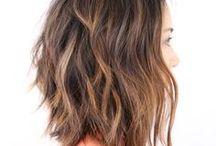 Hair style ideas 2017 / LOB, long bob, long hair, updos, light brown